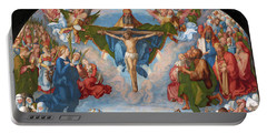 Adoration Of The Trinity  Portable Battery Charger
