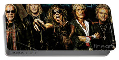 Aerosmith Collection Portable Battery Charger by Marvin Blaine