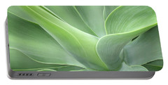 Agave Attenuata Abstract Portable Battery Charger