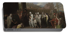 Agrippina Landing At Brundisium With The Ashes Of Germanicus Portable Battery Charger
