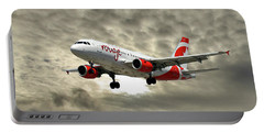 Air Canada Rouge Airbus A319 Portable Battery Charger