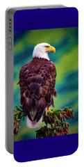 Alaska Bald Eagle Portable Battery Charger