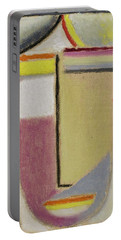 Alexej Von Jawlensky 1864 1941  Small Abstract Head Portable Battery Charger