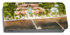 Ambergris Caye Aerial View Portable Battery Charger