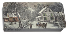 American Homestead   Winter Portable Battery Charger