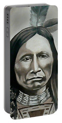 American Horse Portable Battery Charger by Michael  TMAD Finney