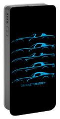 American Snakes Silhouettehistory Portable Battery Charger