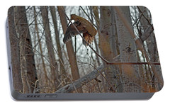 American Woodcock Behavior Portable Battery Charger by Asbed Iskedjian