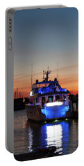 Portable Battery Charger featuring the photograph An Evening In Newport Rhode Island by Suzanne Gaff