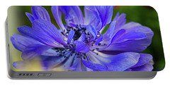 Anemone Blue Portable Battery Charger