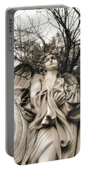 Angel In The Fall Portable Battery Charger