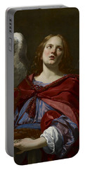 Angels With Attributes Of The Passion Portable Battery Charger