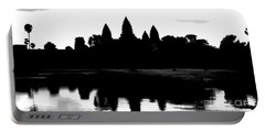 Angkor Wat Black  Portable Battery Charger