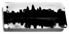 Angkor Wat Black  Portable Battery Charger