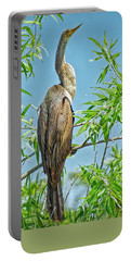 Anhinga Branching Out Portable Battery Charger by Judy Kay