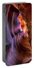 Antelope Canyon #6 Portable Battery Charger by Phil Abrams