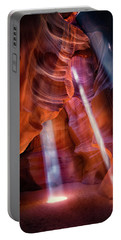 Antelope Canyon's Many Beams Portable Battery Charger