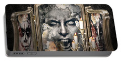 Antique Vampire Paintings Portable Battery Charger