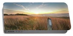 Appalachian Trail Sunrise Portable Battery Charger