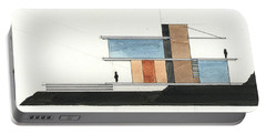 Architectural Drawing Portable Battery Charger