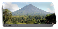 Arenal Volcano Portable Battery Charger