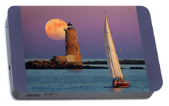 Portable Battery Charger featuring the photograph Arise  by Larry Landolfi