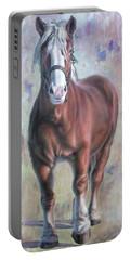 Arthur The Belgian Horse Portable Battery Charger