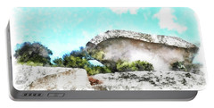 Arzachena Mushroom Rock Portable Battery Charger