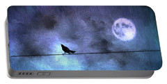 Portable Battery Charger featuring the photograph Ask Me For The Moon by Jan Amiss Photography