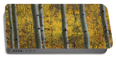 Aspen In Autumn At Mcclure Pass Portable Battery Charger
