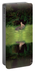 Dusk Bunny Portable Battery Charger