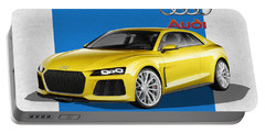 Audi Sport Quattro Concept With 3 D Badge  Portable Battery Charger