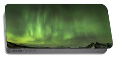Aurora Borealis Or Northern Lights. Portable Battery Charger