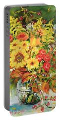 Autumn Arrangement Portable Battery Charger