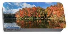 Autumn At Boley Lake Portable Battery Charger