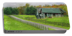 Autumn Barn Portable Battery Charger by Mary Timman