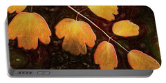 Portable Battery Charger featuring the photograph Autumn Breeze by Paul Wear