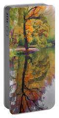 Portable Battery Charger featuring the photograph Autumn Colors by Vladimir Kholostykh
