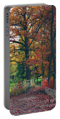 Autumn Impression Portable Battery Charger