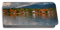 Autumn In Melvin Village Portable Battery Charger