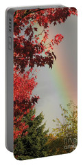 Autumn Rainbow Portable Battery Charger