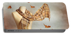 Autumn Scarf Portable Battery Charger