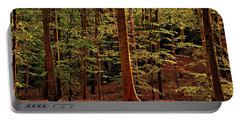 Autumn Woodland Portable Battery Charger