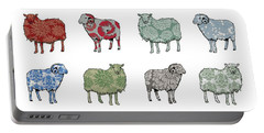 Baa Humbug Portable Battery Charger by Sarah Hough