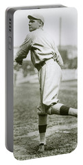 Babe Ruth Pitching Portable Battery Charger