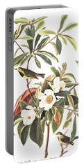 Bachman's Warbler  Portable Battery Charger by John James Audubon