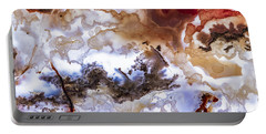 Backlit Agate Portable Battery Charger