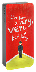 Bad Boy Greeting Card Portable Battery Charger