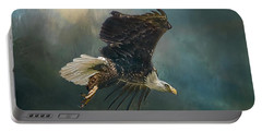 Bald Eagle Swooping Portable Battery Charger