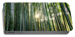 Bamboo Forest At Arashiyama Portable Battery Charger